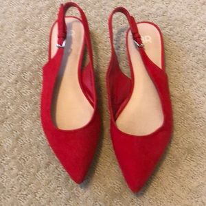 Red BP shoes